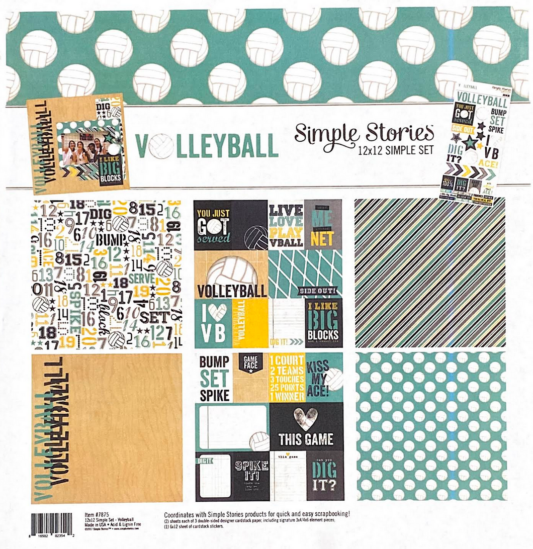 VOLLEYBALL COLLECTION KIT by SIMPLE STORIES
