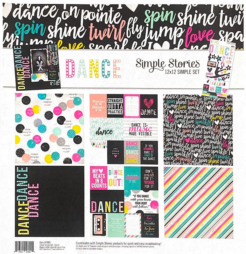 DANCE COLLECTION KIT by SIMPLE STORIES