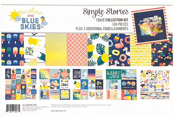SUNSHINE PAPER KIT by SIMPLE STORIES