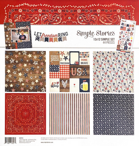 LET FREEDOM RING COLLECTION KIT by SIMPLE STORIES