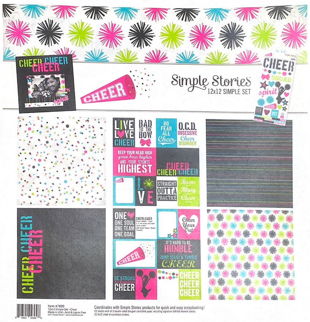 CHEER COLLECTION KIT by SIMPLE STORIES