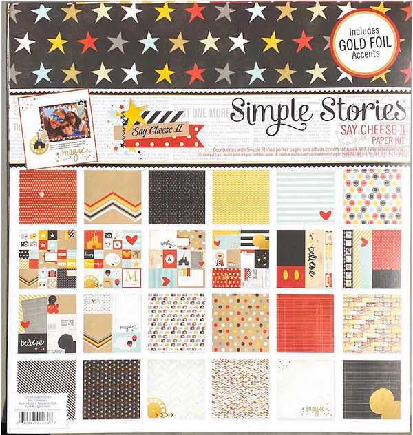 SAY CHEESE II PAPER KIT by SIMPLE STORIES