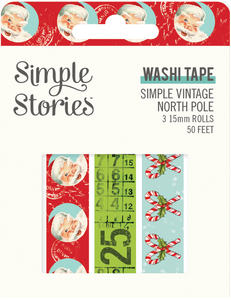 Simple Vintage North Pole Washi Tape by Simple Stories