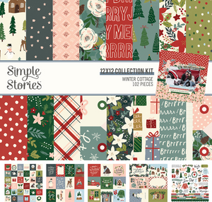 Winter Cottage Collection Kit by Simple Stories