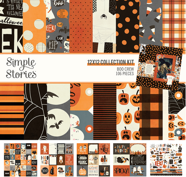 Boo Crew Collection Kit by Simple Stories
