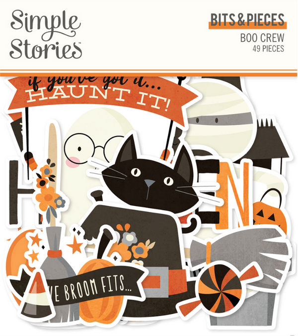 Boo Crew Bits & Pieces by Simple Stories