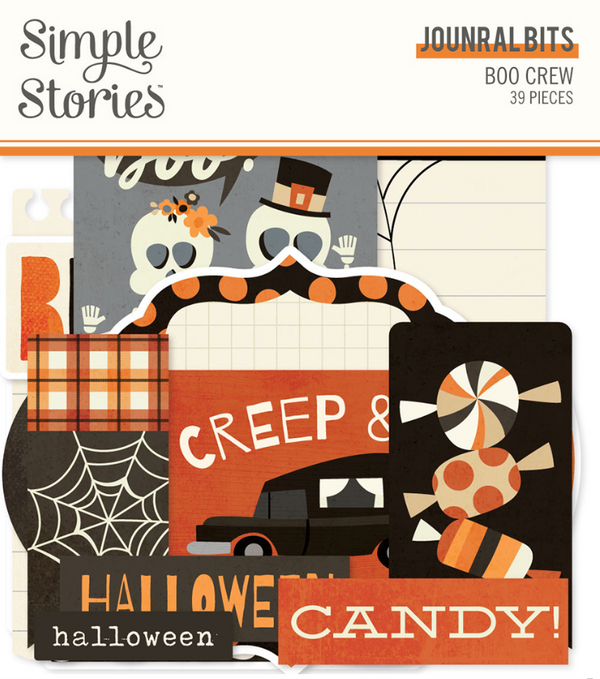Boo Crew Journal Bits & Pieces by Simple Stories
