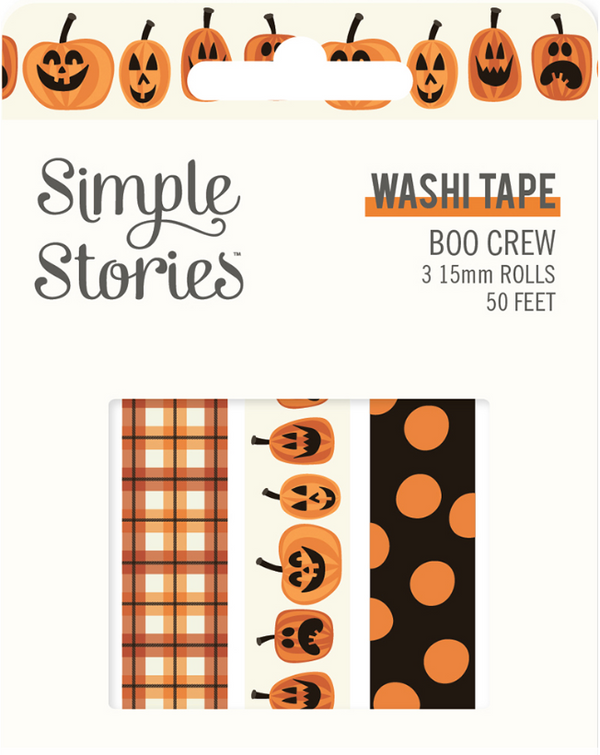 Boo Crew Washi Tape by Simple Stories