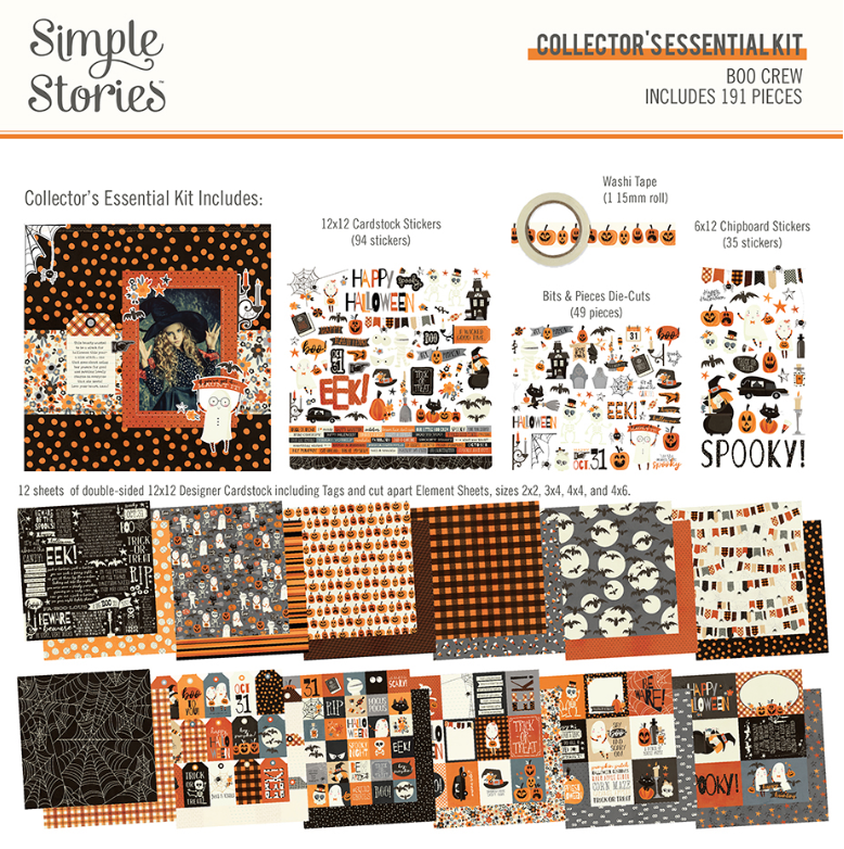 Boo Crew Collector's Essential Kit by Simple Stories
