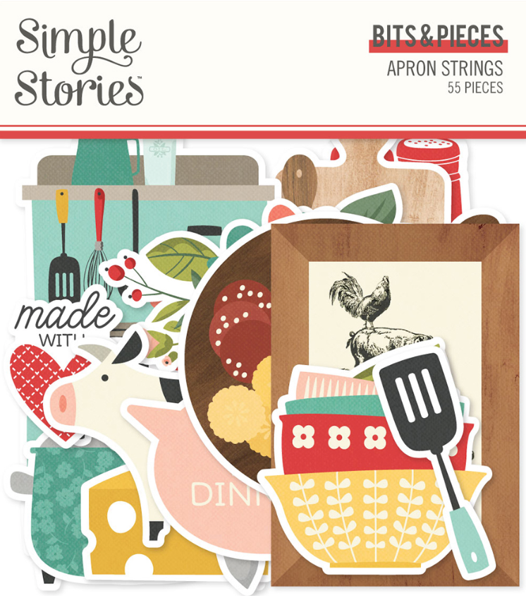 Apron Strings Bits & Pieces by Simple Stories