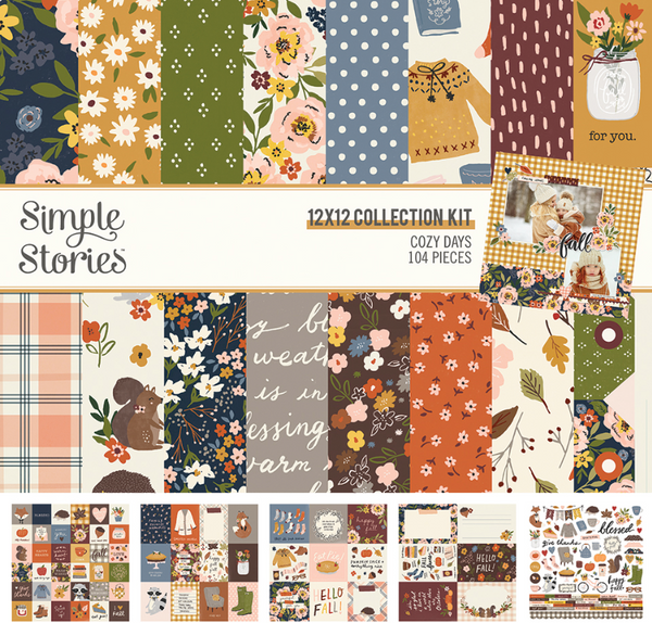 Cozy Days Collection Kit by Simple Stories