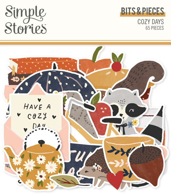 Cozy Days Bits & Pieces by Simple Stories