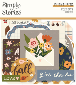Cozy Days Journal Bits & Pieces by Simple Stories