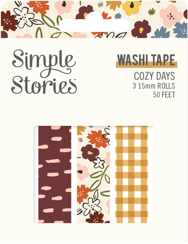 Cozy Days Washi Tape by Simple Stories
