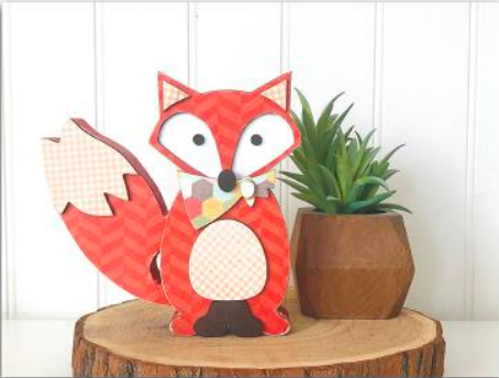 Fox by Foundations Decor **SHIPPING AUGUST**