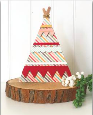 Teepee by Foundations Decor **SHIPPING AUGUST**