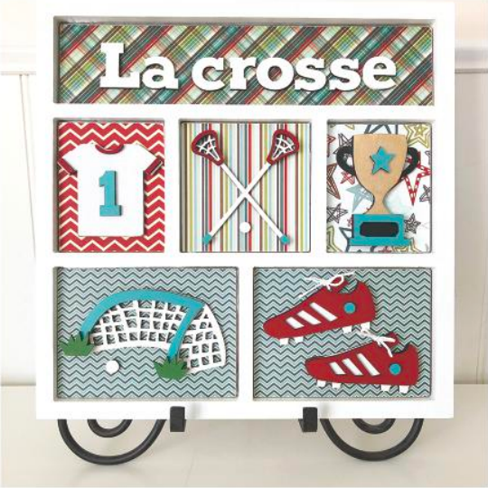La Crosse Shadow Box Kit by Foundations Decor **SHIPPING AUGUST**