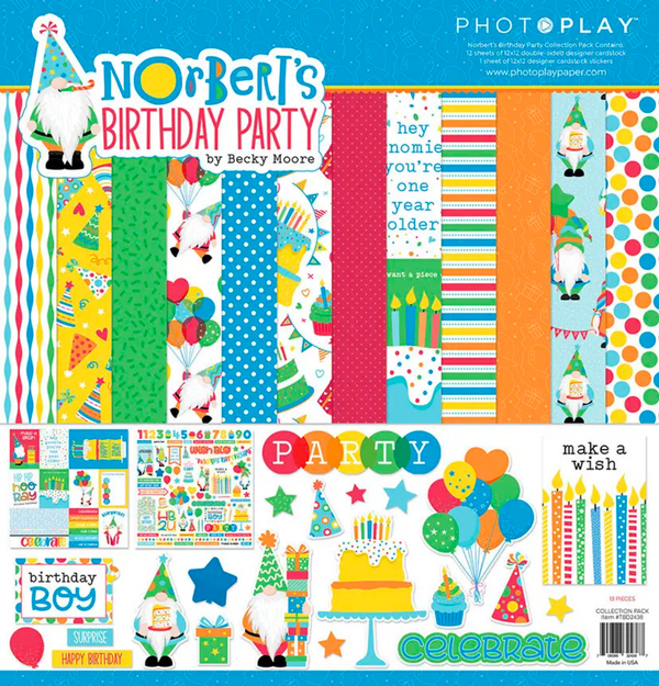 Norbert's Birthday Party Collection Kit