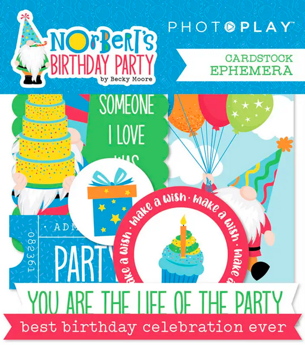 Norbert's Birthday Party Ephemera by PhotoPlay Paper