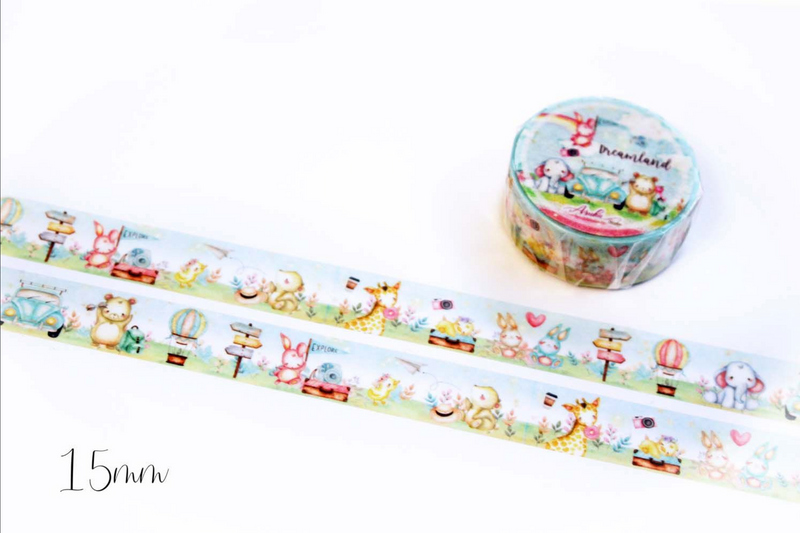 Dreamland Washi Tape - Blue