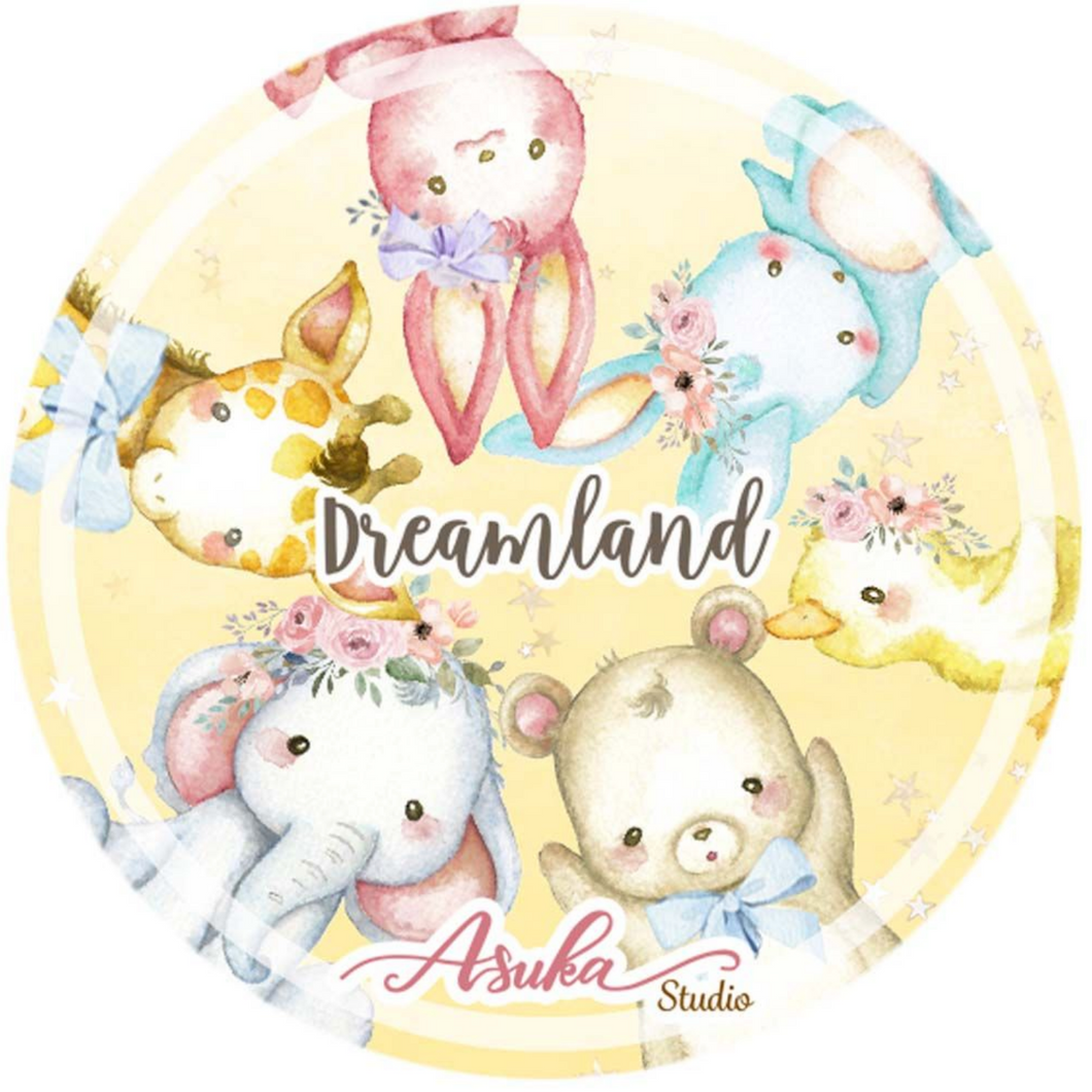 Dream Land Collection Washi Tape Yellow