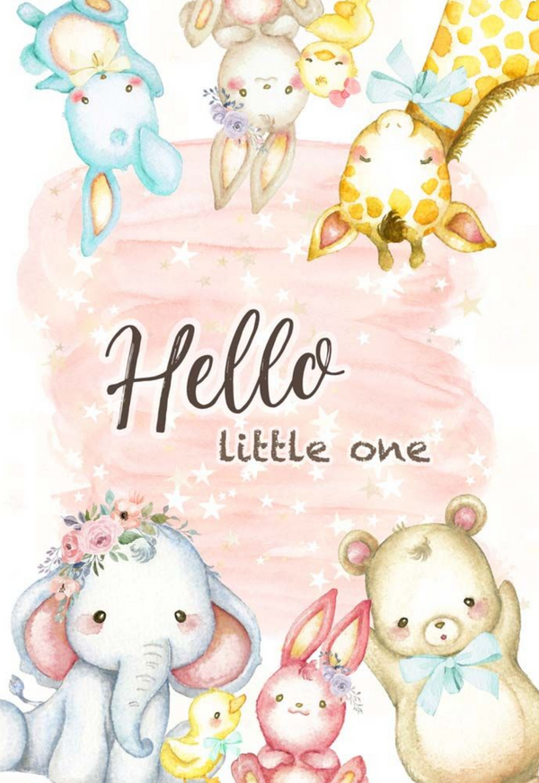 Dreamland Collection Postcard - Hello Little One by Memory Place