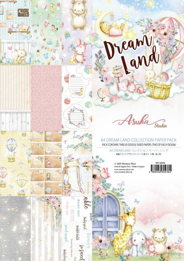 Dreamland Collection A4 Paper Kit