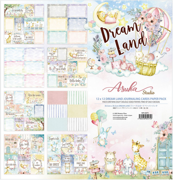 Dreamland 4x6 Journaling Cards 12x12 Collection Pack