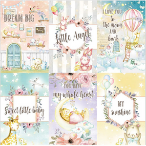 Dreamland 4x6 Journaling Cards 4 **Shipping October**