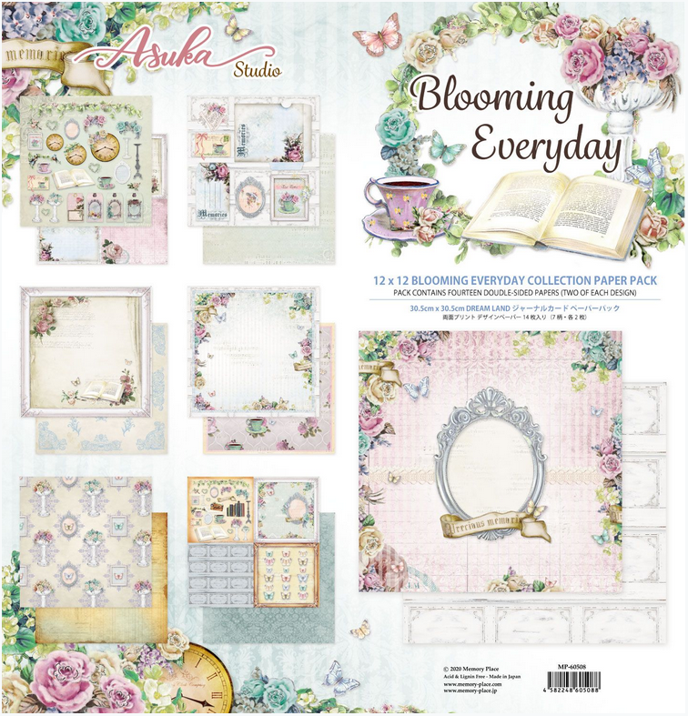 Blooming Everyday 12x12 Collection Pack