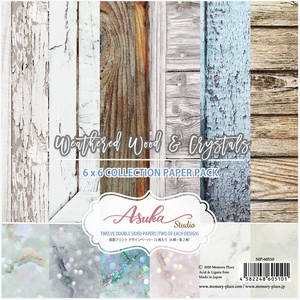 Weathered Wood & Crystals 6x6 Collection Pack **SHIPPING OCTOBER**