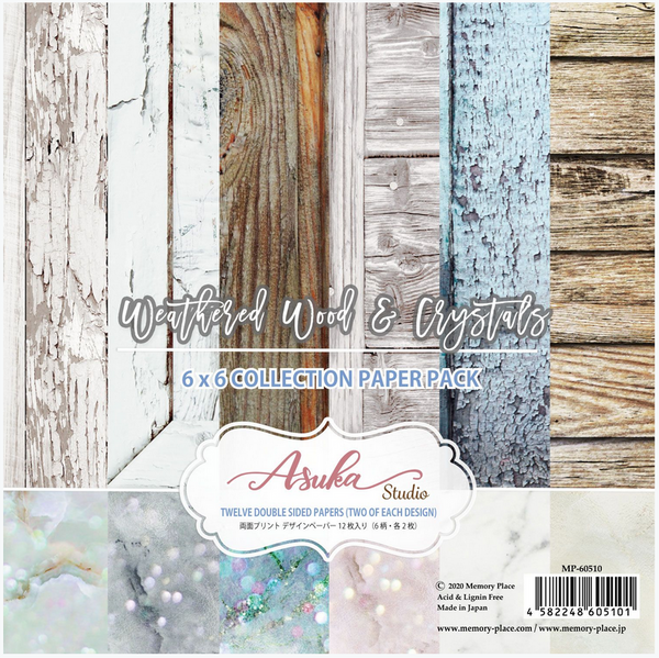 Weathered Wood & Crystals 6x6 Collection Pack