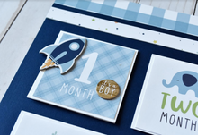 Baby Boy Page Kit