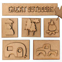 Great Outdoors Shadow Box Kit