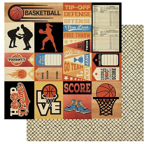 All-Star Paper Pack - Basketball