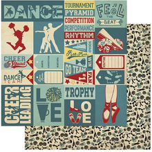 All-Star Paper Pack - Dance & Cheer