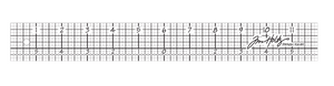 Tim Holtz Acrylic Design Ruler 12""
