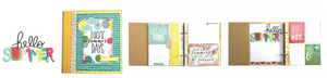 Hello  Summer  6x8 Album Class kit by Simple Stories