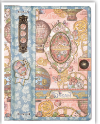 G45 Traveler's Notebook from Creativation featuring Imagine by Annette Green