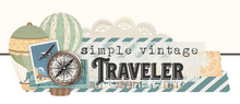 Simply Vintage Traveler SN@P! Binder by Simple Stories
