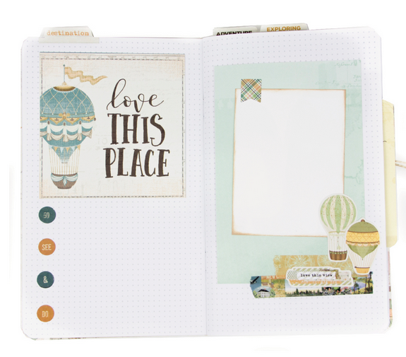 Simply Vintage Traveler Notebook Album by Simple Stories