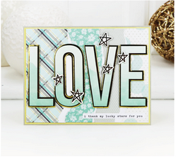 Heart card kit by Simple Stories