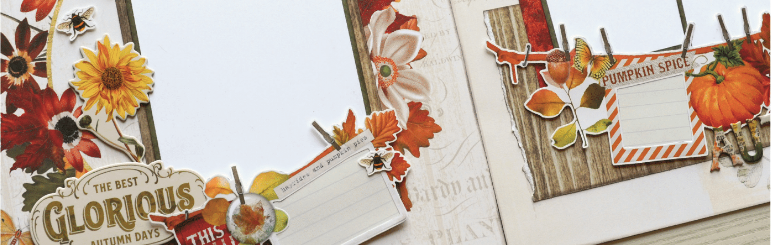 Autumn Splendor Page Kit by Simple Stories Shipping August