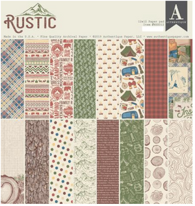 Rustic Collection by Authentique Paper