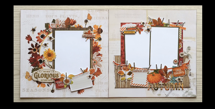 Autumn Splendor Page Kit by Simple Stories