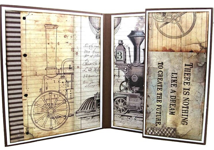 Voyagers Fantastic Card Kit by Kathy Clement ~ TUTORIAL ONLY
