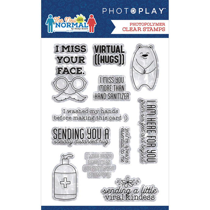 The New Normal Polymer Stamps 4x6 by Photoplay Paper