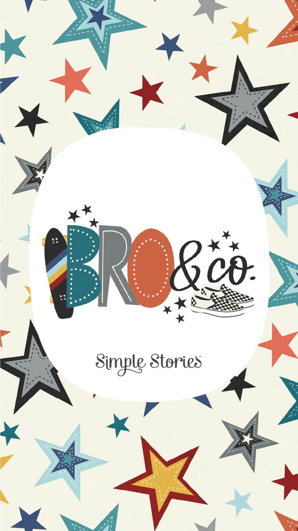 Bro & Co SN@P! Flipbook Kit by Simple Stories