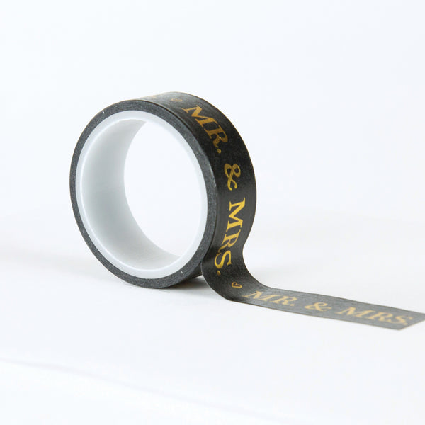 MR. & MRS. DECORATIVE TAPE by ECHO PARK