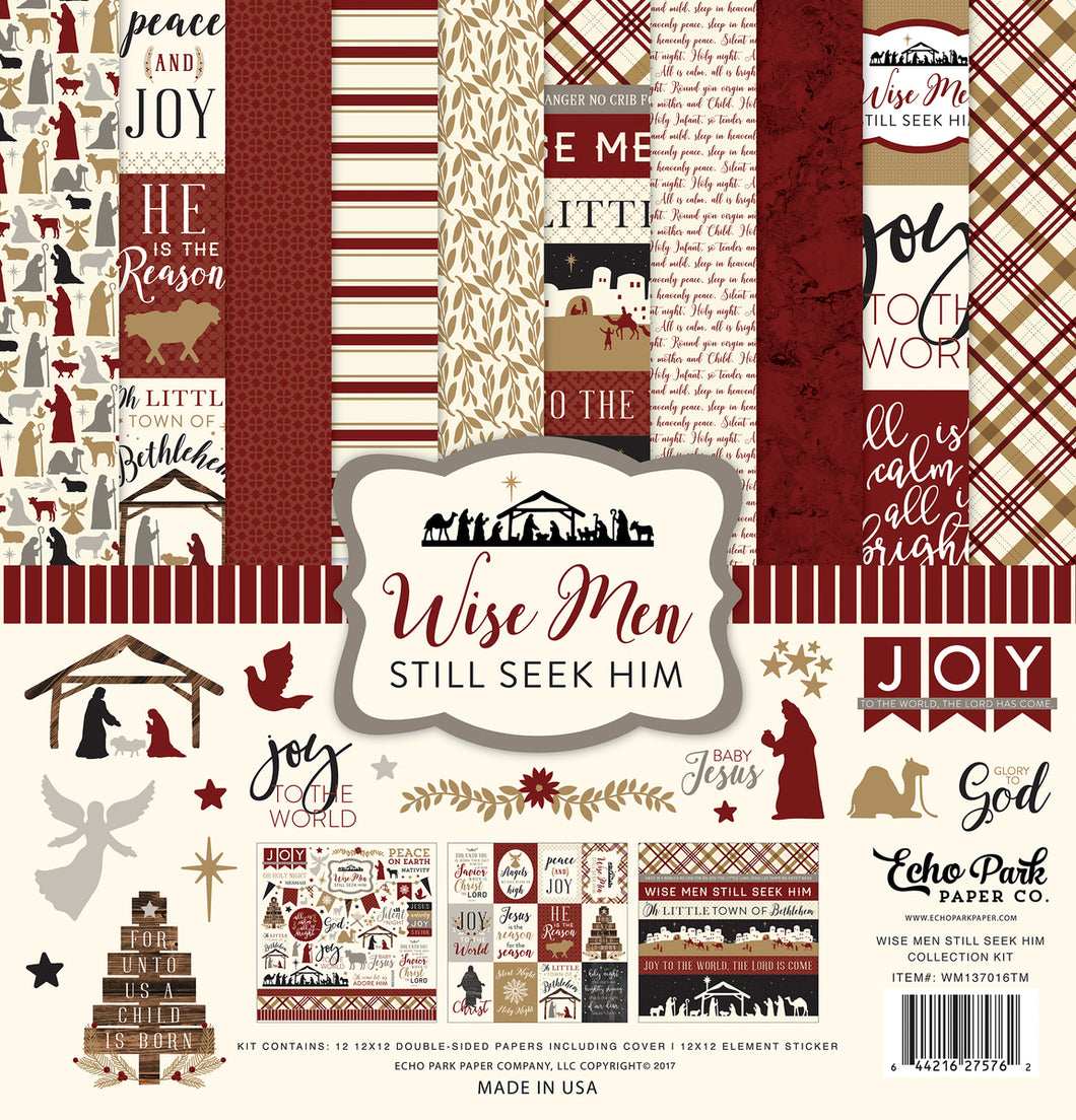 WISE MEN STILL SEEK HIM COLLECTION KIT by ECHO PARK